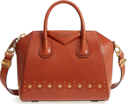 Givenchy Small Antigona Star Embellished Leather Satchel