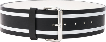 Monse Racing Stripe Print Belt