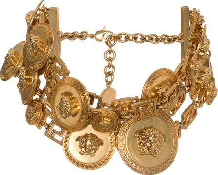 Versace Large Medusa choker necklace