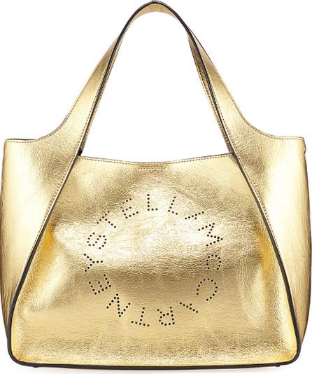 Stella McCartney Metallic Logo Crossbody Bag