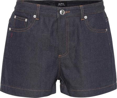 A.P.C. Denim shorts