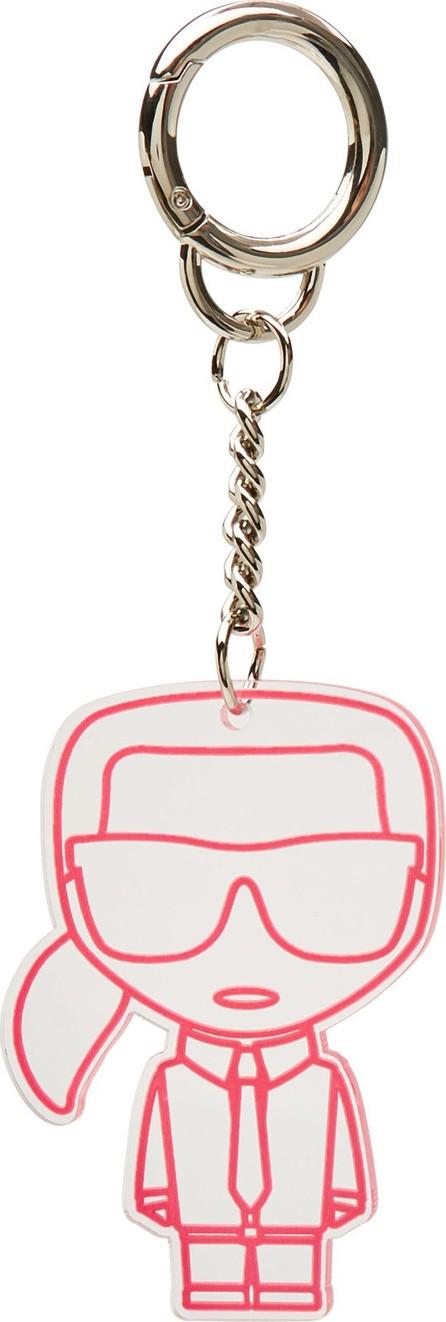 Karl Lagerfeld K/Neon Transparent Keychain