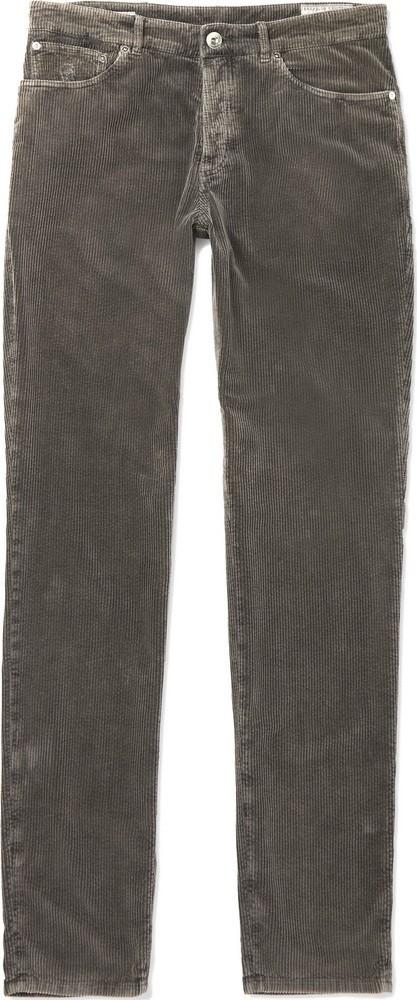 Brunello Cucinelli Cotton-Corduroy Trousers