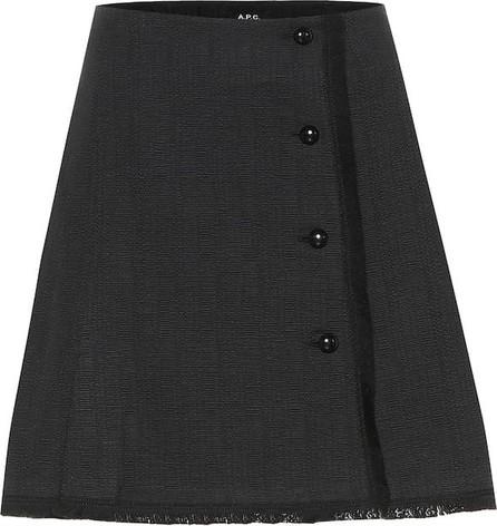 A.P.C. Frida tweed miniskirt