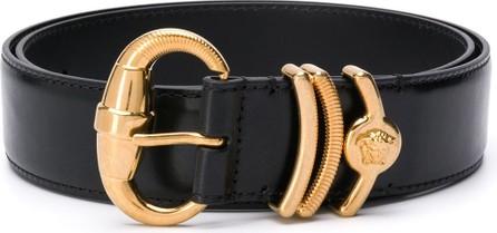Versace Textured details belt