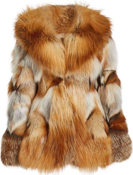 Anna Sui Fox Fur Jacket