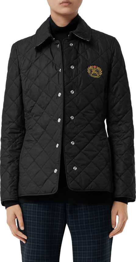 Burberry London England Franwell Diamond Quilted Jacket