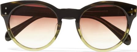 Oliver Peoples Paris 51 round-frame acetate sunglasses
