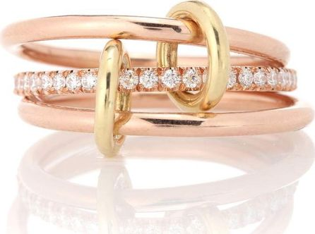 Spinelli Kilcollin Sonny Gold 18kt rose gold and diamond ring