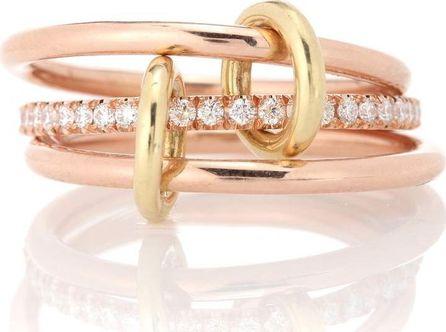 Spinelli Kilcollin Sonny Gold 18kt rose gold and diamond ring