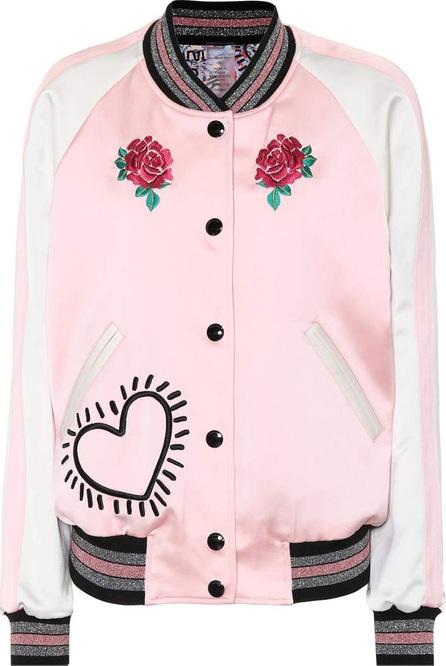 COACH X Keith Haring reversible bomber jacket