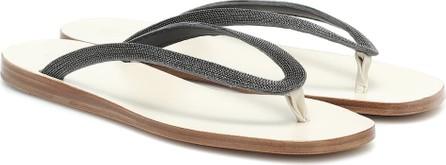 Brunello Cucinelli Embellished sandals