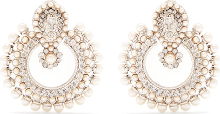 Etro Taj Mahal faux-pearl embellished earrings
