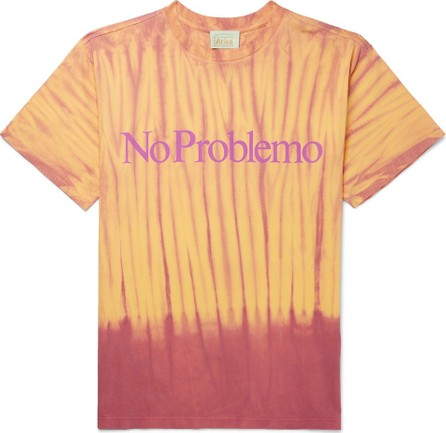 Aries Printed Tie-Dyed Cotton-Jersey T-Shirt