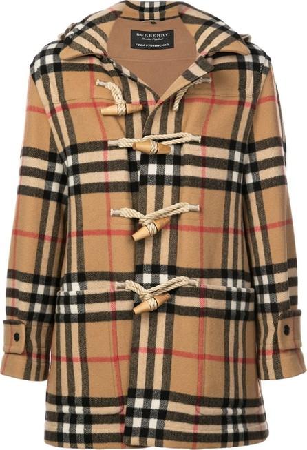 Gosha Rubchinskiy Gosha Rubchinskiy x Burberry classic check duffle coat