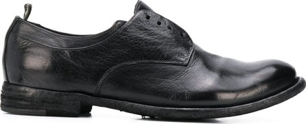 Officine Creative Textured laceless Oxford shoes