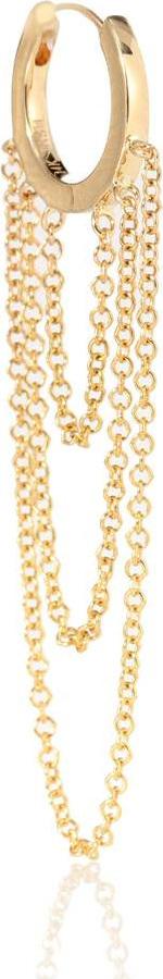 Maria Tash 14kt gold single earring