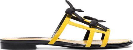 Fabrizio Viti City bow suede sandals