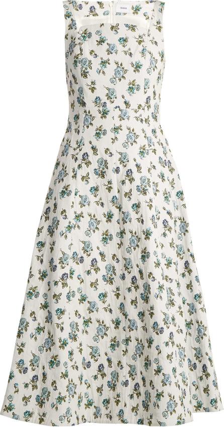 Erdem Polly floral-jacquard dress