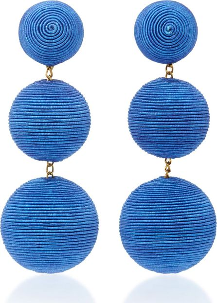 Rebecca de Ravenel Classic Silk Corded Clip Earrings