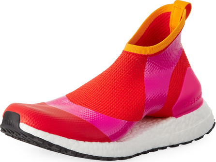 Adidas By Stella McCartney Ultra Boost X Fabric Sneakers, Pink/Orange