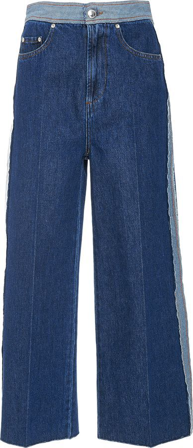 RED Valentino High Waisted Denim Trousers