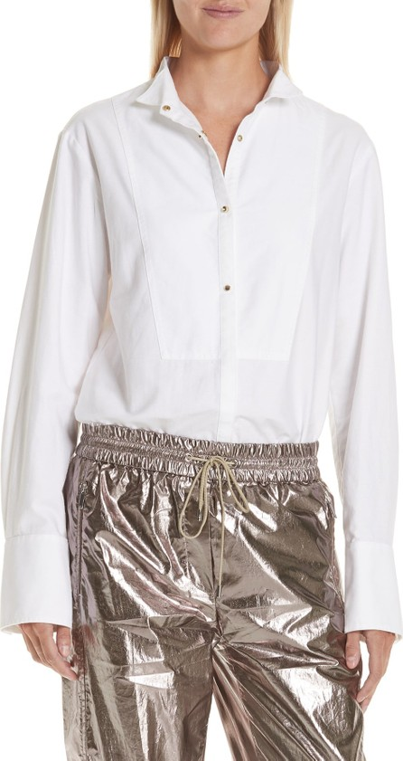 GREY Jason Wu Oxford Shirting Blouse