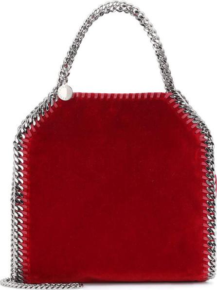 Stella McCartney Falabella Mini 3 Chain velvet tote