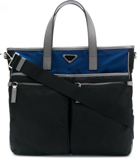Prada Two-toned briefcase
