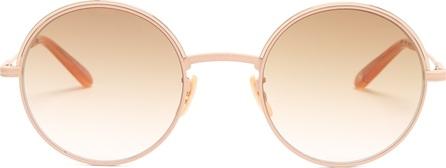 GARRETT LEIGHT Seville 48 round-frame sunglasses