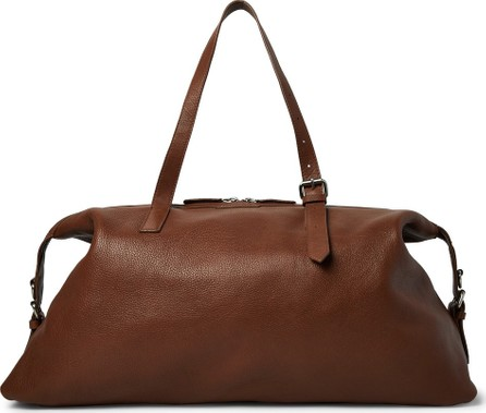Dries Van Noten Full-Grain Leather Holdall