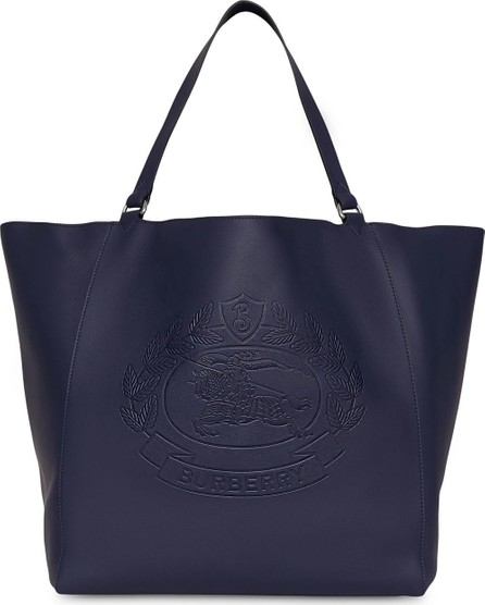 Burberry London England Large embossed tote bag