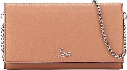 Christian Louboutin Boudoir Leather Wallet-on-Chain