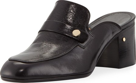 Laurence Dacade Thelma 55mm Block-Heel Mule Loafers