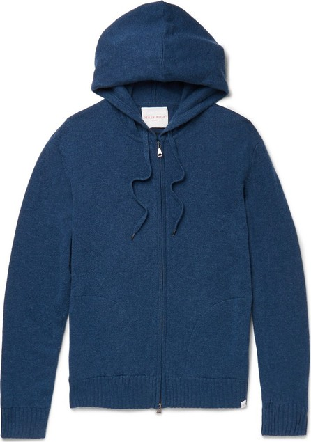 Derek Rose Slim-Fit Cashmere Zip-Up Hoodie