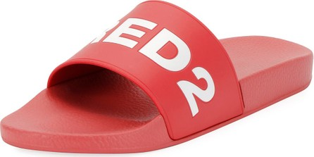DSQUARED2 Logo Slide Sandals