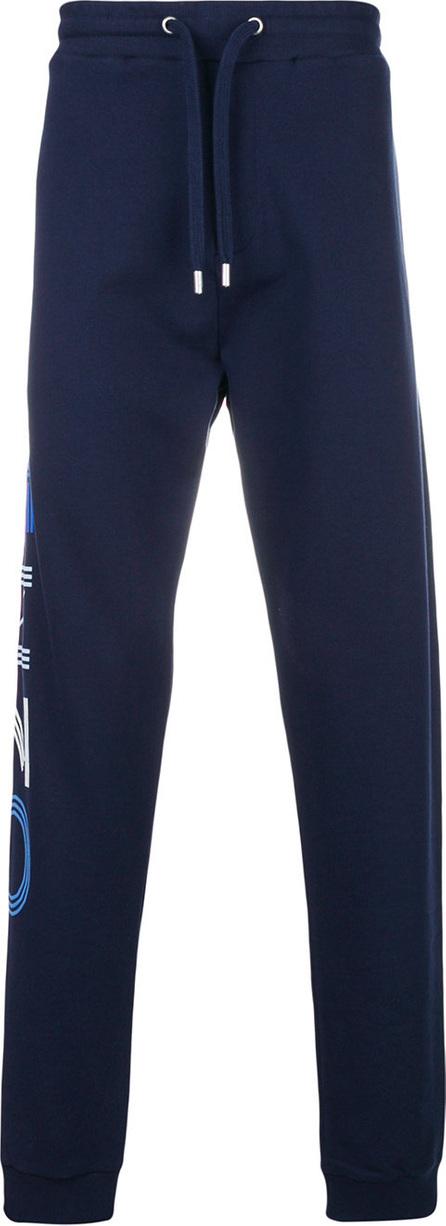 KENZO Tapered logo side track pants