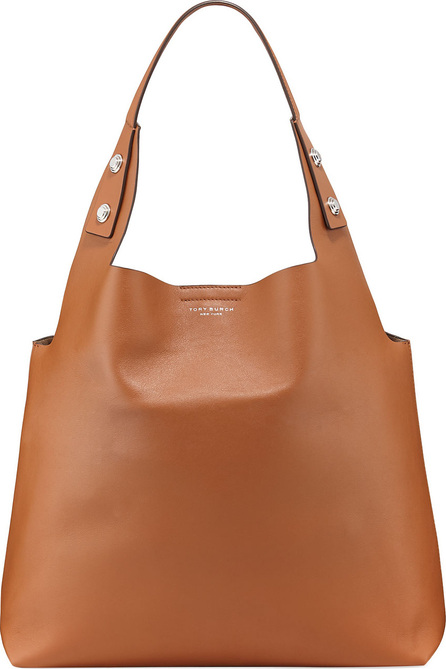 Tory Burch Rory Smooth Leather Tote Bag