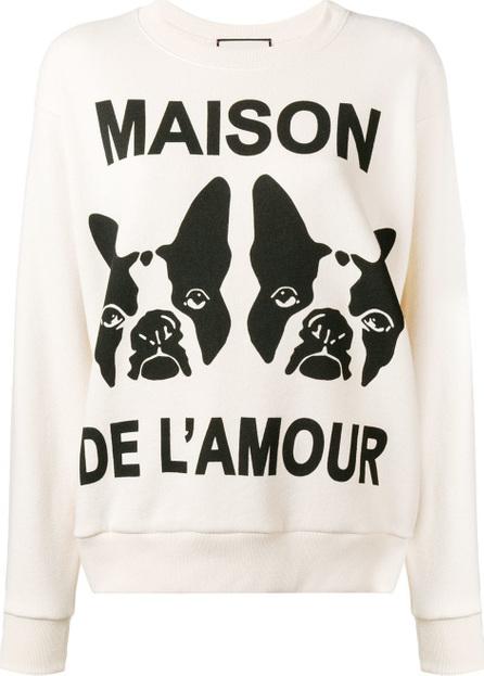 """Gucci """"Maison de l'Amour"""" sweatshirt"""