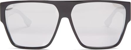 Dior Diorlia mirrored square-frame sunglasses