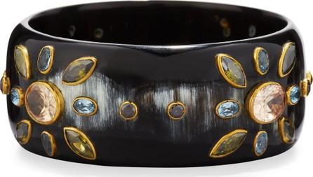 Ashley Pittman Malkia Dark Horn Bangle Bracelet