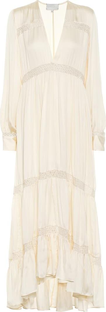 Arje Phoebe silk maxi dress