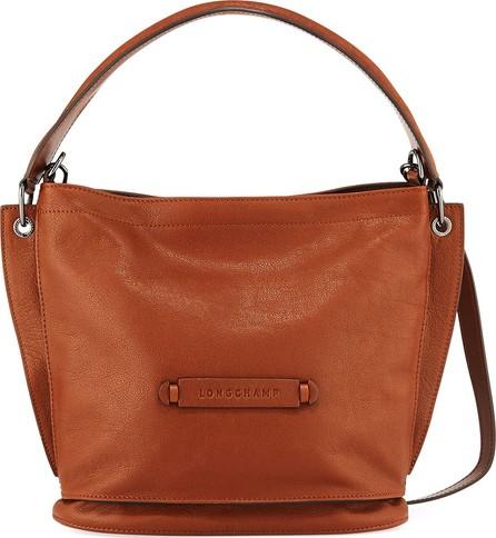 Longchamp 3D Leather Crossbody Hobo Bag