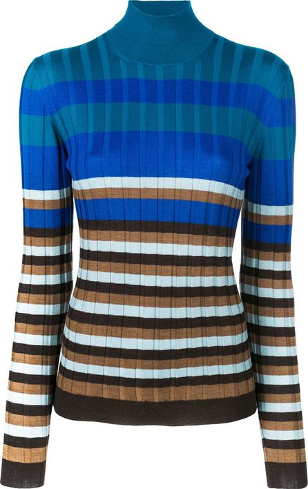 Marni ribbed roll neck sweater