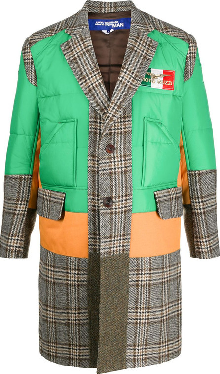 Junya Watanabe MAN Panelled single-breasted coat