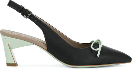 Marni Bow slingback pumps
