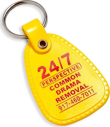 24/7 Perspective Unlock Your Mind Keychain