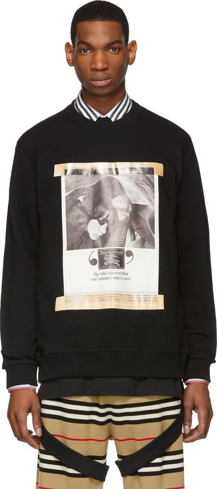 Burberry London England Black Archive Campaign Sweatshirt