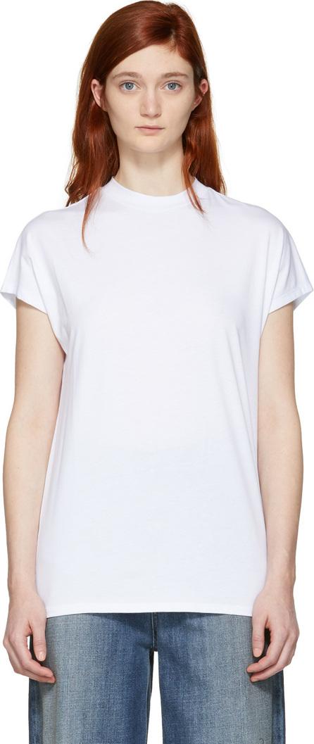 Won Hundred White Proof High Neck T-Shirt