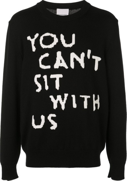 Nasaseasons YOU CANT SIT WITH US pullover sweater